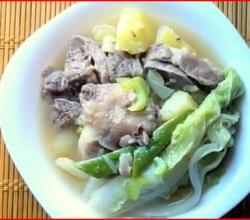 Beef Nilaga (Filipino Beef Stew)
