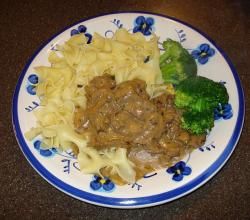 Beef Stroganoff And Noodles