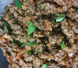 Beef Ularthiyathu - Stir Fried Beef