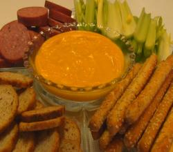 Betty's Beer Cheese Fondue -- Super Bowl!