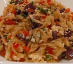 Betty's Greek Orzo Salad