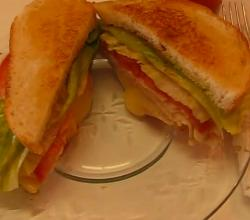 Betty's Turkey Brie Apricot Sandwich