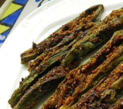 Spicy Sour Bharwan Bhindi