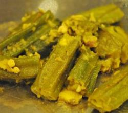 Bhindi Masala (Indian Stuffed Okra)