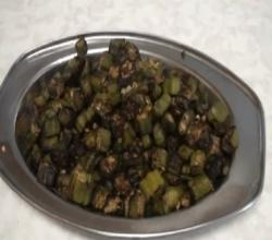 Bhindi Sabji - Bhinda Nu Shak - Okra Curry