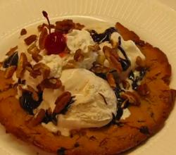 Crunchy Chocolate Chip Sundae Cookie