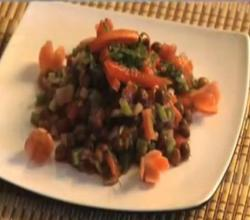 Black Chana Salad