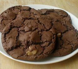 Black Walnut Chocolate Cookies