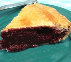 Open Blackberry Pie Part 2  - Baking