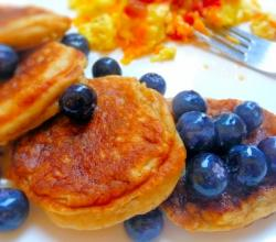 Blueberry Breakfast Pancakes