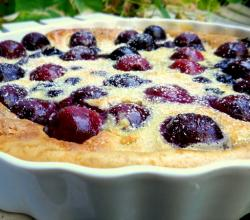 Blueberry Clafouti