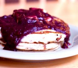 Blueberry Honey Sauce