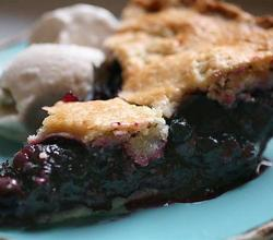 Delicious Blueberry pie