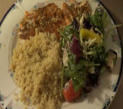 Bodybuilding Meal: Rainbow Trout & Quinoa