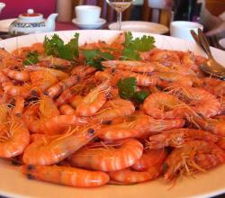 Spiced Boiled Shrimp