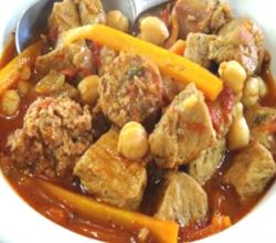 Spicy Pork & Sausage Stew
