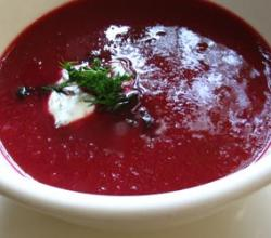 Creamy Borscht, Hotel Utah Style