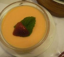 Brandied Peach Mousse