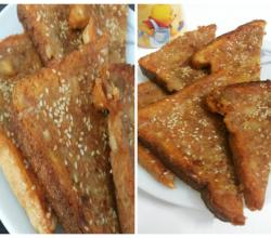 Treat for Kids - Fried Bread Snack