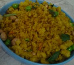 Brown Bread Poha