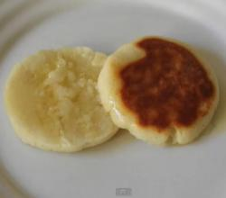 Breakfast Cream Cheese Arepas