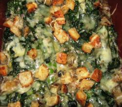 Broccoli-Spinach Casserole