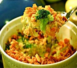 Broccoli and Sirloin Bake