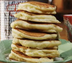 Brown Butter Buttermilk Pancakes