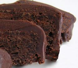 Brown Velvet Frosted Brownies