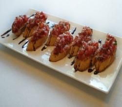 Brittany Allyn - Savor the Flavors - Grilled Bruschetta
