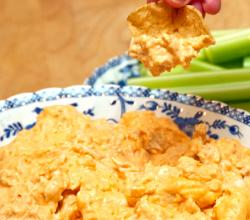 Delectable Buffalo Chicken Dip