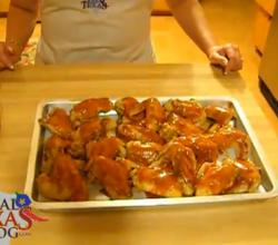 Make Ahead Buffalo Wings - Part 2 - Freezing