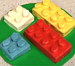 How to Make a Building Blocks Cake - Block Birthday Cake