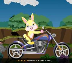 Edewcate English Rhymes : Little Bunny Foo Foo Nursery Rhyme