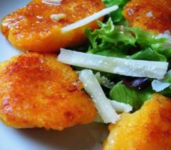Pan Fried Butternut Squash