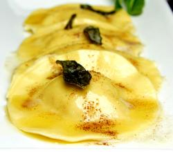 Butternut Squash Ravioli with Sage Brown Butter