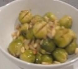 Buttery Brussels Sprouts With Garlic And Toasted Pine Nuts