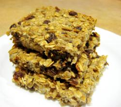 Buttery Raisin Walnut Bars