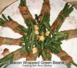 Cajun Style Bacon Wrapped Green Beans