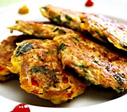 Korean Food: Canned Tuna Pancakes (참치전)