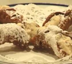 Homemade Cannoli