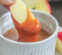 Bourbon-Caramel Dipping Sauce (Corn Syrup Free)