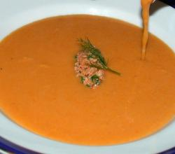 Carrot & Pine Nuts Soup