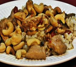 Lynn's Cashew Chicken
