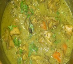Mom's Creamy Kaju Chicken Curry
