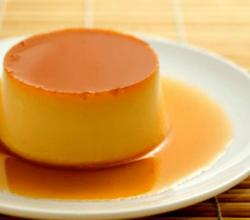 Custard With Caramel Syrup