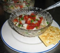 Ceviche With White Wine