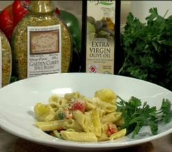 CFJC Midday - Made with Love - Creamy Curry Penne with Rainbow Peppers - Easy Real Whole Food Fast