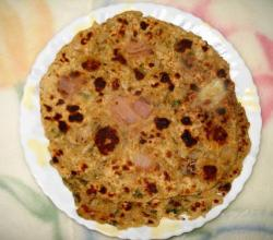 Chapati With Onion