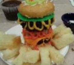 How to Make Cheeseburger Cupcakes and Fries